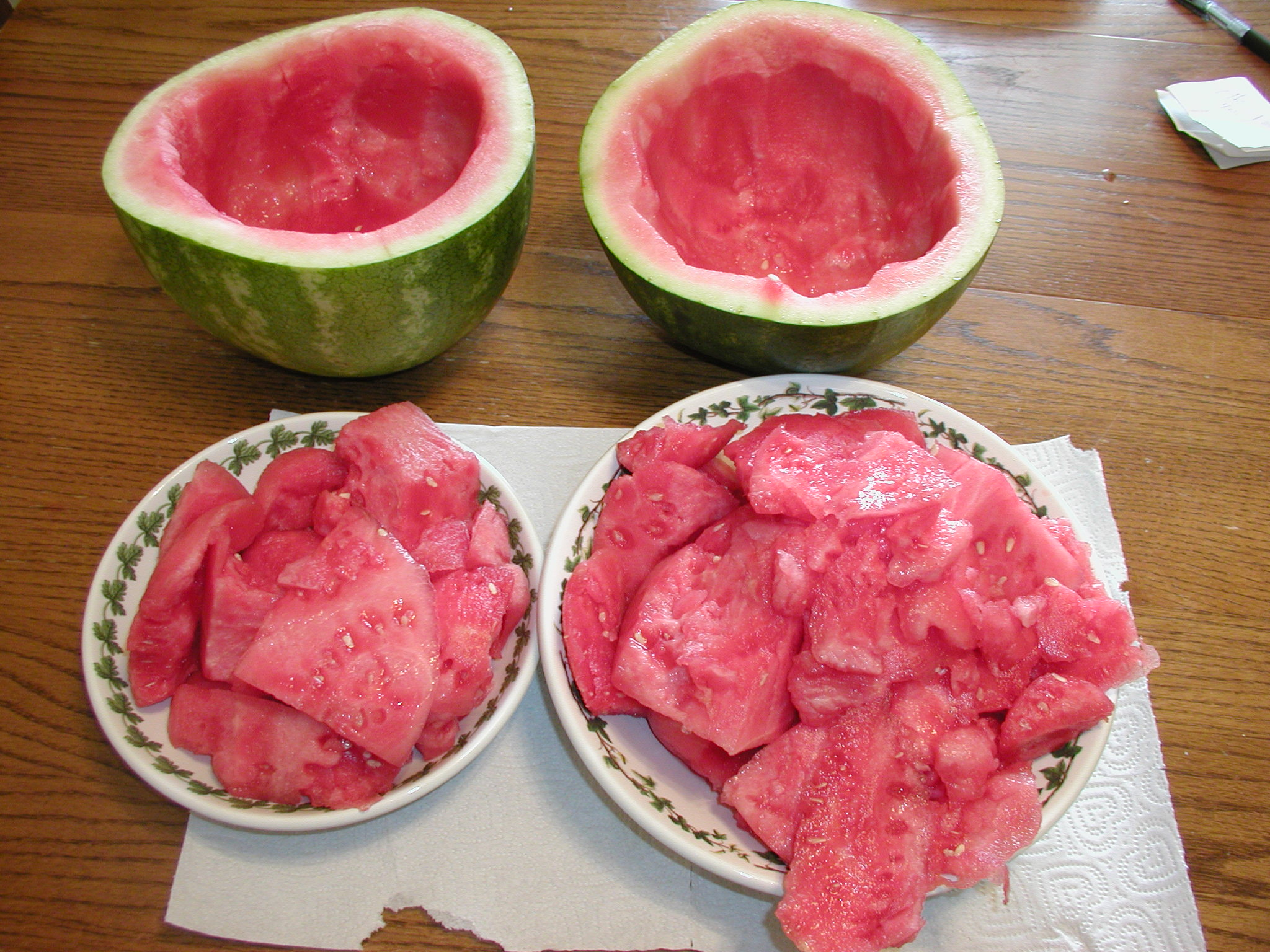 How to save a watermelon